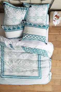 Enmore Embroidered Duvet - anthropologie.com #anthroregistry #anthropologie