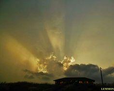 Outer Banks NC Local Artists Facebook post: Avon Pier.  Photographer credit: Mark Lemmon.  Glorious!