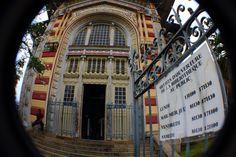 Cool Library.  Exploring Fort-de-France, Martinique.  A Caribbean adventure!