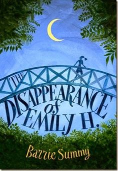 Win a copy of the Disappearance of Emily H by Barrie Summy!