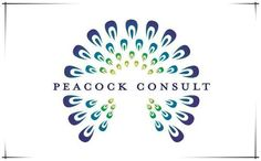 25 Beautiful and Charming Peacock Logo Designs for Your ...