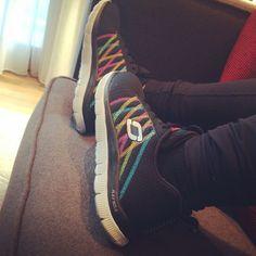 ddlovato's photo on Instagram  ddlovato    Thanks @Skechers for keeping me comfy on tour  #skechersdemistyle