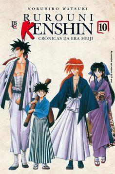 LIGA HQ - COMIC SHOP Rurouni Kenshin #10 PARA OS NOSSOS HERÓIS NÃO HÁ DISTÂNCIA!!!