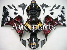 Fit for Honda CBR1000RR 2006 2007 CBR1000 RR ABS Plastic motorcycle Fairing Kit Bodywork CBR 1000RR 06 07 CBR 1000 RR EMS19 #Affiliate