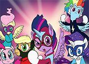 Power Ponies Go! Canterlot Siege 4
