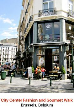Among the beautiful old streets of Brussels with their historic buildings is an explosion of creativity. You will see it in the designer boutiques and on the dining tables of gourmet restaurants. Take a walk in the Belgian capital to have the best shopping experience.