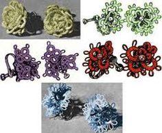 Bildergebnis für earrings tatting patterns