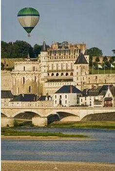The Royal Chateau of Amboise, in the Loire Valley