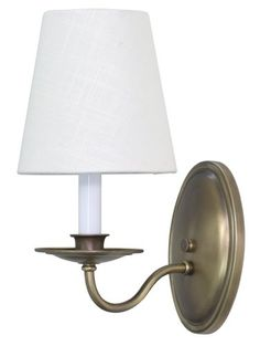 House of Troy Lighting LS217-AB Lake Shore 1-Light Wall Sconce with Linen Fabric Shade, Antique Brass Finish House of Troy Lighting http://www.amazon.com/dp/B00IOUH6UA/ref=cm_sw_r_pi_dp_rP0Rub1K39BBR
