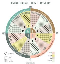 Astrology House divisions