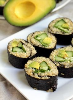 Mix it Up: Quinoa Avocado Sushi