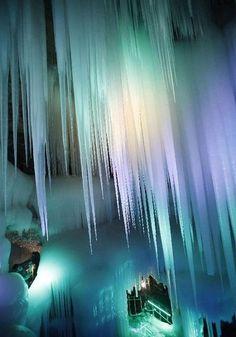 """Ice Cave in China  ANNI DOPO ANNI DOPO ANNI  """"NOI""""  OH OH OH"""