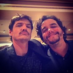 wagner moura and pedro pascal