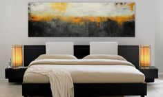 Art Abstract Painting Large 72 Original  Painting wall by Itisfine
