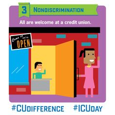 At a credit union, everyone belongs. #CUDifference