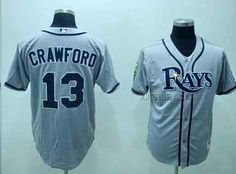 http://www.xjersey.com/rays-13-carl-crawford-gray-jerseys.html RAYS 13 CARL CRAWFORD GRAY JERSEYS Only 32.17€ , Free Shipping!