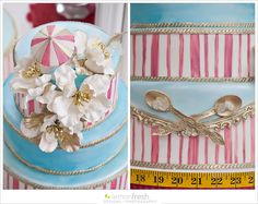 A Mary Poppins bridal shower, with elegant and whimsicle details coordinatedand styledby sweet and talented ladies, Crystal Adair-Benning of DistinctOccasions and Rachel Clingen of Rachel A. Clingen Event Styling and cake by the Caketress