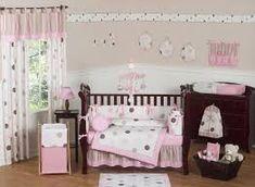 Resultado de imagen para habitacion bebe en rosa y lila