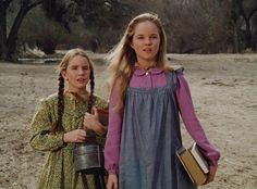 Laura and Mary, Little House on the Prairie