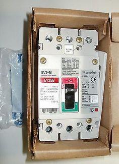 EATON EGB3025FFG E125B 25 Amp 3 Pole Breaker