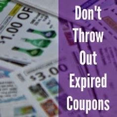 Don't Throw Out Expired Coupons .... donate them to military families stationed overseas