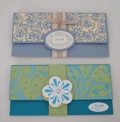 Jill's Card Creations: money holders