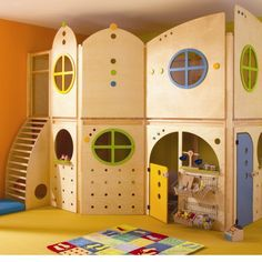 Another good idea for an indoor play area.