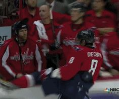 Alex Ovechkin, Washington Capitals- fall off the boards