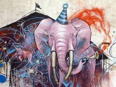 """""""Delirium"""" by Kraser Tres. Cartagena, Spain."""
