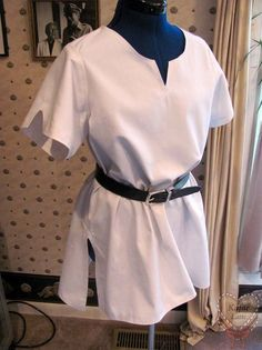 Great instructions on how to make a tunic
