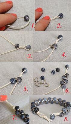 Tendance Bracelets Oksana Plus Hobbies: DIY: Zigzag Bracelet (Сделай сам: Браслет Зиг-заг)