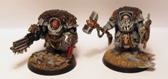 my figures - space wolves
