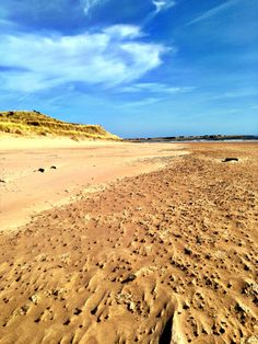 Beadnell Bay. A great beach for children with its wide sandy beach and hilly dunes. There is a whole host of watersports on offer here and toilet and washing facilities - a necessity if you have toddlers.