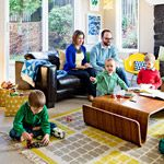 A Family Room for Everyone Transform your family room into a place where playdates and grown-up fun can coexist.