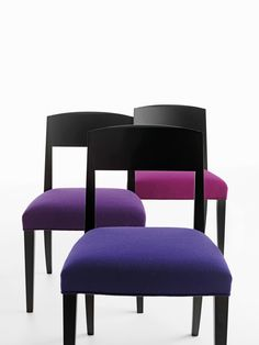 Sillas modelo Lasa de Crassevig diseñado por Enrico Franzolini. Mobiliario de diseño para oficinas, contract o hogar. (Espacio Aretha agente exclusivo para España).