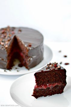 Black Forest Cake | WIN-WIN FOOD Except for the avacado in the frosting