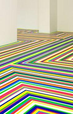 RAINBOW Flooring - Jim Lambie