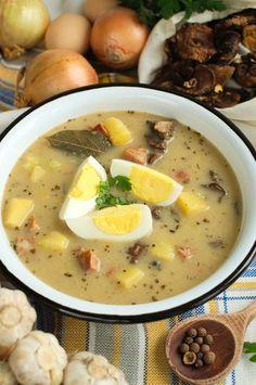 Zalewajka B Food, Food Porn, Good Food, Yummy Food, Kitchen Recipes, Soup Recipes, Dinner Recipes, Cooking Recipes, Healthy Dishes