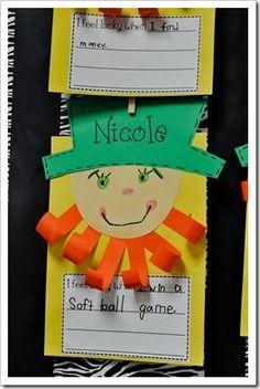 so cute for my Kindergarten class!
