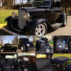 Ultra rare, all Henry Ford steel, 1932 Ford 3 Window Coupe. Rust free!This car has a functional cowl vent and features its original fenders, runners, nose, grill, and trunk! Never chopped, channeled, or filled.Black custom interior featuring: custom gauges, stereo system, and tilt column with custom steering wheel. Runs and drives excellent! Powered by a performance built 302 V8 with performance intake, carb, and custom valve covers.Price $91,400
