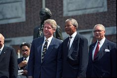 Honoring Mandela.