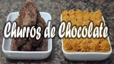 CHURROS DE CHOCOLATE COM DOCE DE LEITE  DA DONA FLORINDA FÁCIL