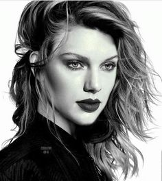 I love this sketch made by a swiftie! She looks so real! Comment down and post your sketches of Taylor ❤ #share #buy18eshop