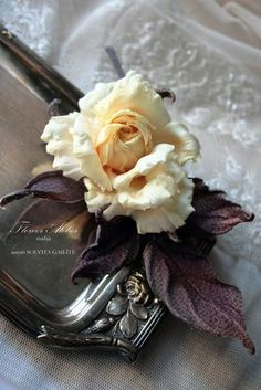 Pures silk somebana style handmade rose Keptown от FlowerAtelier