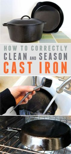 How to Clean and Season Cast Iron Cookware