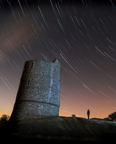 One of last nights star trail shots over at Hadleigh Castle in Essex.
