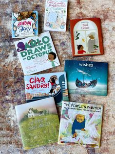 Eight new books to add your kids' library to show diversity and inclusion. Check out the blog for a short summary and links to each! Ben Shahn, Kids Library, Girl Guides, Kid Styles, New Books, Joy, Bird, Children, Drawings