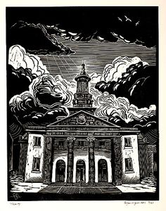 Trinity, Bryan Angus, Linoleografia
