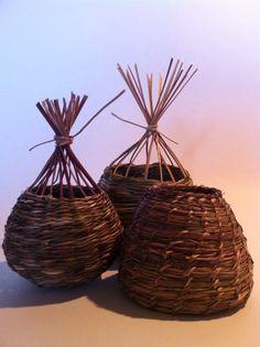 Fibre Sculptures - contemporary basketry - Home