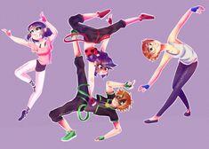 miraculous ladybug breakdance au   Tumblr